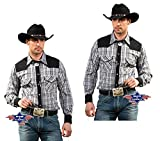 STARS & STRIPES Herren Hemd Westernhemd Biker Country Cowboy Western Westernstyle »Brian« Gr.XXL