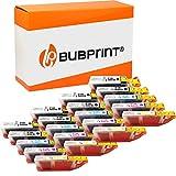 Bubprint Kompatibel Druckerpatronen als Ersatz für Canon PGI-550 CLI-551 XL für Pixma IP7200 IP7250 IX6850 IP8750 MG5450 MG5550 MG5650 MG6350 MG6450 MG6650 MG7150 MG7550 MX725 MX920 MX925 20er-Pack