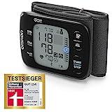Omron RS7 Intelli IT Handgelenk-Blutdruckmessgerät – Messgerät zur Überwachung des Blutdrucks – Bluetooth- und Smartphone-kompatibel – Testsieger Stiftung Warentest 09/2020