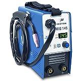 Fülldraht Schweißgerät ohne Gas - Drahtschweißgerät mit 145 Ampere & Elektrodenschweißfunktion mit 140 Ampere   Auto. Drahtvorschub - Inverter - Einsteigergerät - von Vector Welding