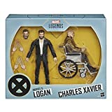 Marvel Legends Series X-Men Logan and Charles Xavier Action Figure 2-Pack