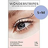 Wonderstripes Augenlid Pflaster, transparent, Größe S-M