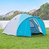 Forager Arizona Zelt 2 Personen - Kuppelzelt für Camping | 2 Mann Zelt wasserdicht | Einfache Montage - Ausgezeichnet für Urlaube, Rucksacktouren, Festivals | Tragetasche enthalten