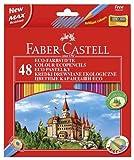 Faber-Castell ECO-Farbstifte, 48 Stück + Anspitzer
