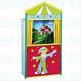 Beluga Spielwaren GmbH 50128 Kasperltheater aus Holz Spielzeug