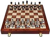 CZYNB Gewichtete beliebte Play Board schachspiel Set Holz für Erwachsene - neues Turnier Geschenk Stil Klassische Chess Sets - Nicht Backgammon, bretter Reisen Spiele, Geschenk (Size : 17.7IN×17.7IN)