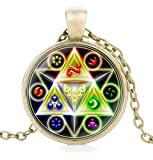 Hyrule Fashion Jewelry The Legend of Zelda - Halskette/Kette - Triforce   Ocarina of Time   Breath of The Wild