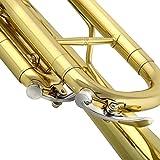 FOLOSAFENAR wasserdichte Trompete im Bb-Wasserschlüsselventil Zum Ersetzen Ihres Trompetenventilschlüssels(CB98)