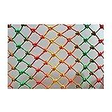 ZHANGAIZHEN Universal Schutznetz Katzennetz 5cm*mm Kinder Fallschutz Treppennetz Sicherheitsnetz Treppenzaun Dachboden Bett für Kinder(Size:2x8m)