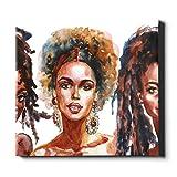 N\A Moderne Kunst Wanddekor Schöne Mädchen Ölgemälde Mode Küche Leinwand Wandkunst Leinwand Dekorative Malerei Geeignet für Wohnkultur