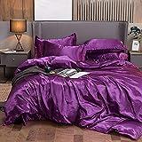 bettbezug 155x220,Das vierteilige Bett kann Sich den Ball Nicht leisten, Grauer Bettbezug, seidensichere, Coole mehrfarbige Single-V_2.0m Bett (4 Stück)