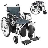 GLXLSBZ Leichter klappbarer elektrischer Rollstuhl Deluxe Faltbarer Faltbarer Power Compact Aid Rollstuhl Dual Batterie Längste Drivi (Geschenke für ältere Menschen)