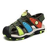 Kinder Geschlossene Sandalen Sneaker Jungen Mädchen Atmungsaktiv Strandschuhe Trekking Sandalette Sommer Schuhe Outdoor Strand Sandalen