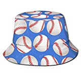 AJOR Game Baseball Unisex Bucket Hat Flat Top Fisherman Hat Outdoor Sun Cap