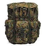 Original US Rucksack Alice Pack Large mit Metallgestell Backpack Daypack Kampfrucksack (Marpat Camo)