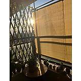 GZHENH-Sichtschutznetz Sonnensegel ,Wintergarten Terrasse Belüftung Sonnenschirm Sonnenschutz Staubdicht Mit Kordelzug Rollläden Anheben Und Ziehen Außenrollo, 27 Größen