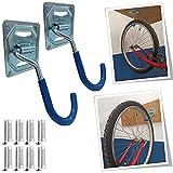 Parpyon® Fahrradträger zur Wandmontage, Fahrradträger, Dachträger, Fahrradträger, Werkzeughalter, Wandhalterung, Fahrradträger für den Boden verschiedener Modelle (Wand/Wand)