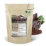 nur.fit by Nurafit BIO Kakaopulver 500g – rein natürliches Kakao-Pulver aus Kakaobohnen ohne Zusatzstoffe – stark entöltes Pulver aus Kakao in Rohkostqualität mit 11% Fett – vegan Superfood