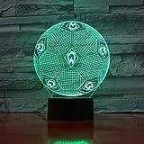 Klsoo Bundesliga Fußball Team Fc Werder Bremen 3D Led Nachtlichter Jungen Kinder Baby Geschenke Fußball Tischlampe Nachttischdekoration
