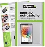 dipos I 2X Schutzfolie matt kompatibel mit XIDO Tablet X110 Folie Displayschutzfolie