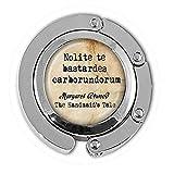 bab Margaret Atwood Nolite te Bastardes Carborundorum Schmuck-Aufhänger mit englischsprachigem Zitat