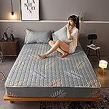 XGguo Matratzen-Bett-Schoner mit Spannumrandung   Betten und Wasserbetten geeignet Bettlaken verdickt einteilig staubdicht-5_1,8 * 2,0 m