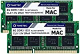 Timetec Hynix IC compatible with Apple16GB Kit (2x8GB) DDR3 1333MHz PC3-10600 SODIMM Memory Upgrade For MacBook Pro, iMac, Mac mini 16GB Kit (2x8GB)