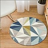 Aunt Susan Kurzflor Wohnzimmer Teppich Bunt Karo Design Vierecke Mehrfarbig Farbenfrohhy54100X100Cm