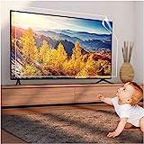 Blendschutzfolie Fernseher Bildschirm Schutz, 32-75 Zoll Fernseher Bildschirm Schutz, Anti Blaues Licht Anti Scratch Anti-Fingerabdruck-Film, Lindern Auge Ermüden, zum LCD, LED ect,65