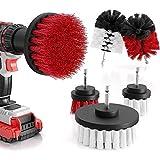 Bürstenaufsatz Bohrmaschine Set 6 Stück, Bürste für Akkuschrauber weiche und harte Reinigungsbürsten für fast alle Oberflächen - extra leichte Reinigung - Drill Brush - Bürstenaufsatz Akkuschraub