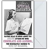 Grußkarte mit Aufschrift'Emotional Rescue, Reading, Daughter'