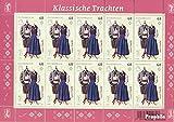 Prophila Collection Österreich 3211Klb Kleinbogen (kompl.Ausg.) 2015 Trachten (Briefmarken für Sammler) Uniformen / Trachten