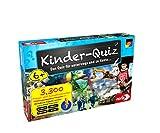 Noris 606013596 Kinder-Quiz, der Familen-Spielspaß für Zuhause oder unterwegs, für 1-6 Spieler ab 6 J