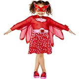 amscan 9908862 Girls Child PJ Masks Owlette Fancy Dress Costume (Age: 6-8 Years) Kostüm,