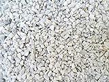 Doubleyou Geovlies & Baustoffe Dekosteine weiß 6-14 mm. (Marmorsplitt) (Weiss, 5 kg) 3,99/kg.