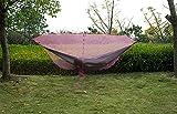Hängematte Nicht inbegriffen 2019 günstige Reise Camping doppelter 2 Person Anti-moskito trennen hängematte Meditation moskito net, WQQWQQ-8521 (Color : Pink)