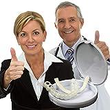 BAFULAN 1 STÜCKE Prothese Zähne Furniere Zum Whitening Lehre, Anpassbare Temporäre Gefälschte Zähne Zum Snap on Sofort & Vertrauen Lächeln