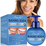 Whitening Zahnpasta, Soda Zahnpasta, Bleaching Zahnpasta, Whitening Toothpaste, Natürliche Zahnaufhellung und Zahnreinigung Zahnpasta- Fluoridfreie Zahnpasta - weiße Zähne