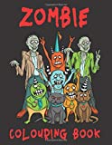 Zombie Colouring Book: Pattern Background: Zombie Coloring Pages Perfect Gift for Adults, Teenagers, Tweens, Older Kids, Boys, & Girls ... Anyone who ... Horror & Great for Stress Relief & Relaxation