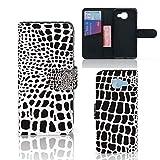 B2Ctelecom Magic Wallet Case kompatibel für Samsung Galaxy A5 2016 Hülle Snakeprint - Geschenk für Männer