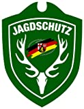 Waidmannsbruecke Erwachsene Jagdschutz Rheinland-Pfalz Autoschild, Grün, One Size