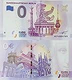 0 Euro Schein Bundeshauptstadt Berlin (2019-1) - Null Euro € Souvenirschein Banknote
