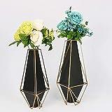 Skulptur,Schmiedetisch Elegante Vase Und Minimalistisches Dekor Nordic Home (Klein: 20 * 34Cm L: 25 * 39Cm)
