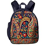 Kinderrucksack Kleinkind Jungen Mädchen Kindergartentasche Teppich indischer Perser Backpack Schultasche Rucksack