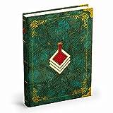 decorwelt Hardcover Notizbuch A5 Tagebuch für Erwachsene 120g Papier grün | Hochwertiges Notizbuch A5 Vintage Notebook A5 | Gamer Merch Zelda Notizbuch - Herr der Ringe Notizbuch - Game of Thrones