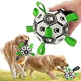 CFinke Hundespielzeug Ball Hundeball Kauspielzeug Robuster aus Naturkautschuk Hundespielball IQ-Trainingsball Interaktives Haustierspielzeug für Mittelgroße und Kleine Hunde Haustiere