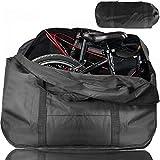 ODSPTER Fahrrad Transporttasche Klapprad Tasche Tragetasche Fahrrad Transport Abwahrungstasche für 14'- 16' Faltrad (schwarz)