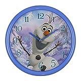 Disney Frozen Olaf Kinder Wanduhr, Metall, Mehrfarbig, 260