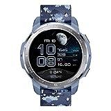 HONOR Watch GS Pro - GPS-Multisport-Smartwatch mit Robustes Gehäuse, 25-tägiger Akkulaufzeit, 1,39-Zoll-AMOLED, schwimmbereit, SpO2, Herzfrequenz-Tracking, kompatibel mit Android und iOS (Blau)