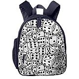 Kinderrucksack Kleinkind Jungen Mädchen Kindergartentasche Würfelt Textur Backpack Schultasche Rucksack